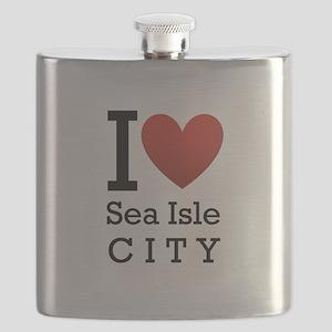 sea isle city rectangle Flask