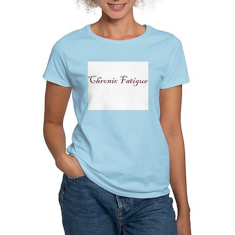 Mom Chronic Fatigue - Women's Pink T-Shirt