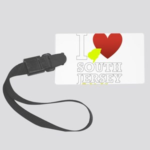 I love South Jersey Large Luggage Tag