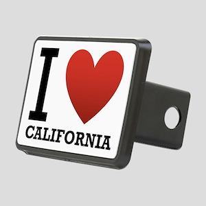 i-love-california Rectangular Hitch Cover