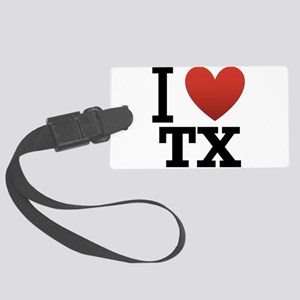 i-love-texas Large Luggage Tag