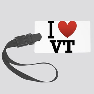 I-love-vermont Large Luggage Tag