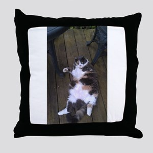 WHO ME? NEVER! Throw Pillow