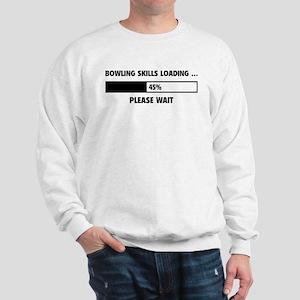 Bowling Skills Loading Sweatshirt
