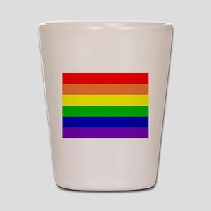 Rainbow Flag Shot Glass
