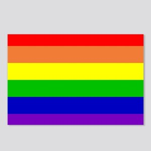 Rainbow Flag Postcards (Package of 8)