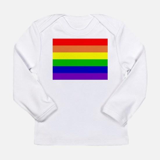 Rainbow Flag Long Sleeve Infant T-Shirt
