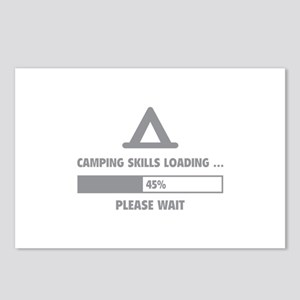 Camping Skills Loading Postcards (Package of 8)