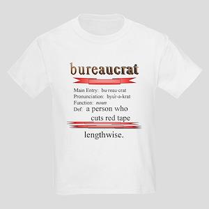 Bureaucracy Defined Kids Light T-Shirt
