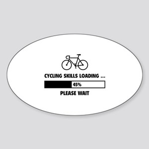 Cycling Skills Loading Sticker (Oval)