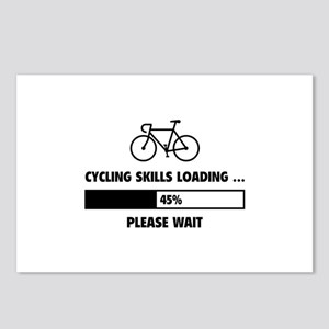 Cycling Skills Loading Postcards (Package of 8)