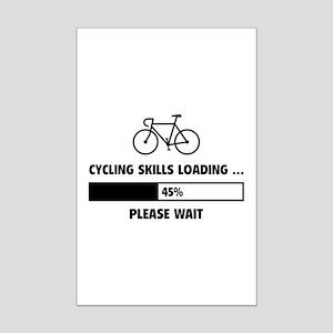 Cycling Skills Loading Mini Poster Print