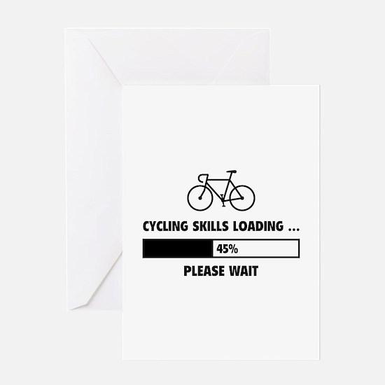 Cycling Skills Loading Greeting Card