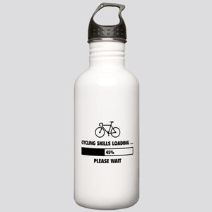 Cycling Skills Loading Stainless Water Bottle 1.0L