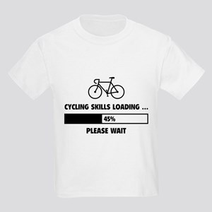 Cycling Skills Loading Kids Light T-Shirt