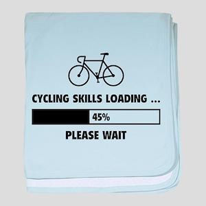 Cycling Skills Loading baby blanket