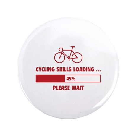 "Cycling Skills Loading 3.5"" Button (100 pack)"