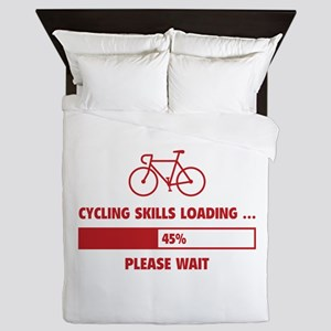 Cycling Skills Loading Queen Duvet