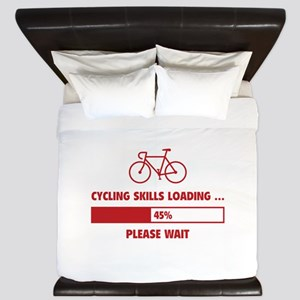 Cycling Skills Loading King Duvet