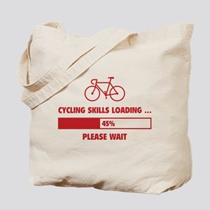 Cycling Skills Loading Tote Bag