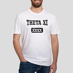 Theta Xi Athletics Fitted T-Shirt