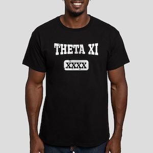 Theta Xi Athletics Men's Fitted T-Shirt (dark)
