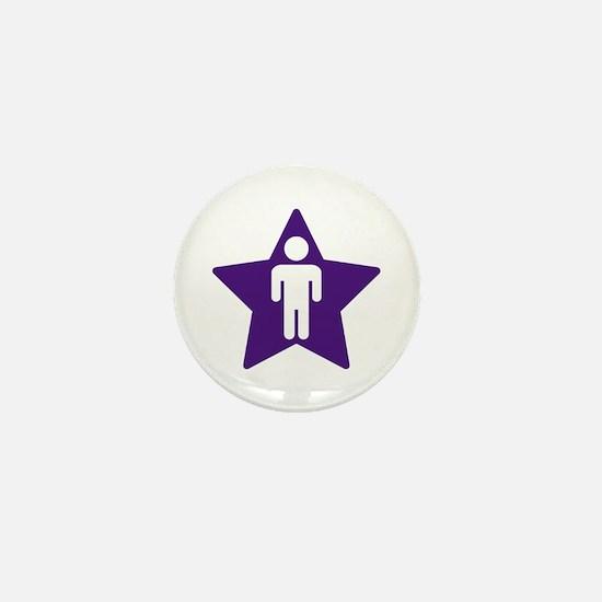 Indigo Child Mini Button