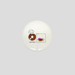 Doughnut Mini Button