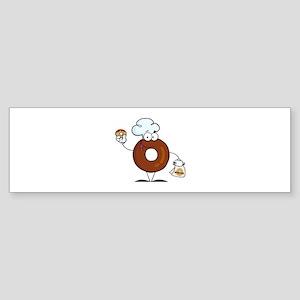 Doughnut Sticker (Bumper)