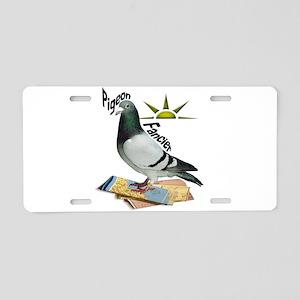 Pigeon Fancier Aluminum License Plate