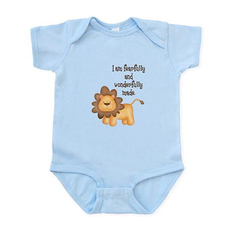 I am fearfully and wonderfully made Infant Bodysui