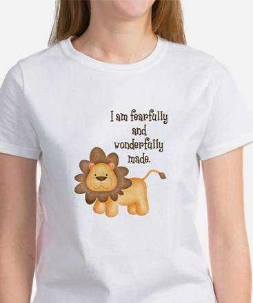 I am fearfully and wonderfully made Women's T-Shir