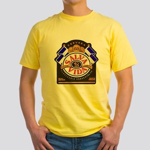 Honduras Beer Label 2 Yellow T-Shirt