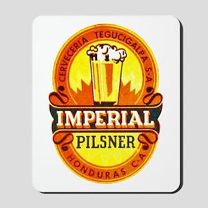 Honduras Beer Label 1 Mousepad