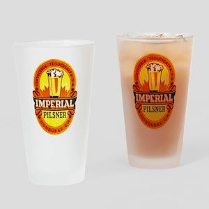 Honduras Beer Label 1 Drinking Glass