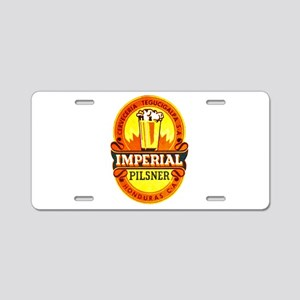 Honduras Beer Label 1 Aluminum License Plate