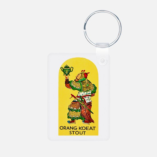 Indonesia Beer Label 1 Keychains