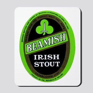Ireland Beer Label 3 Mousepad