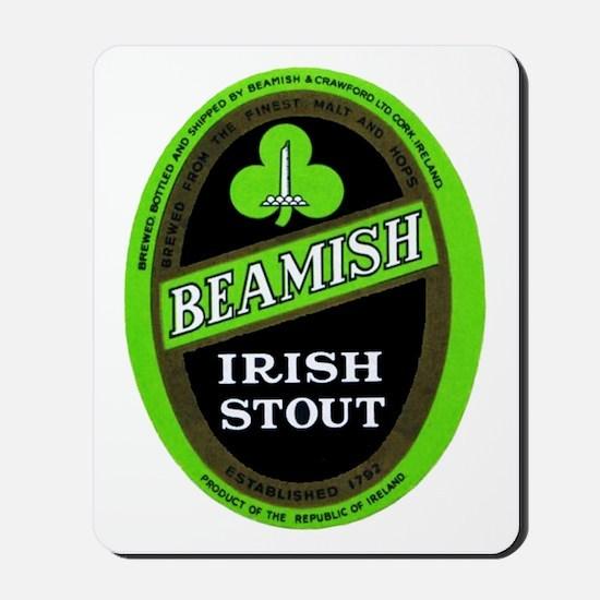 Ireland Beer Label 3 Mousepad