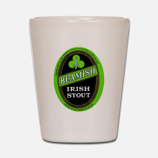 Ireland Beer Label 3 Shot Glass