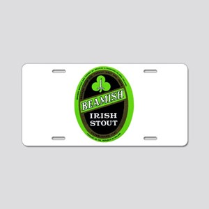 Ireland Beer Label 3 Aluminum License Plate
