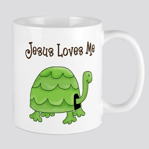 Jesus loves me - Turtle Mug