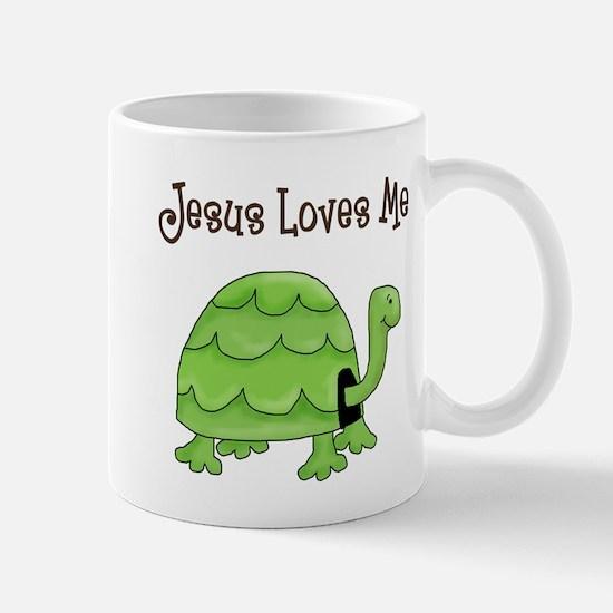 Jesus loves me - Turtle Mug
