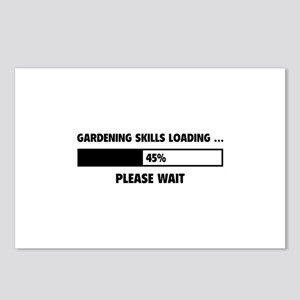 Gardening Skills Loading Postcards (Package of 8)