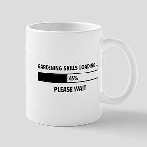 Gardening Skills Loading Mug