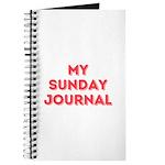My Sunday Journal Notebook