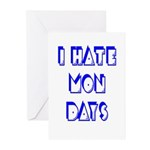 I Hate Mondays Greeting Cards (Pk of 20)
