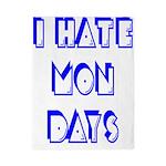 I Hate Mondays Twin Duvet