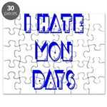 I Hate Mondays Puzzle