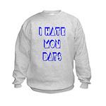 I Hate Mondays Kids Sweatshirt